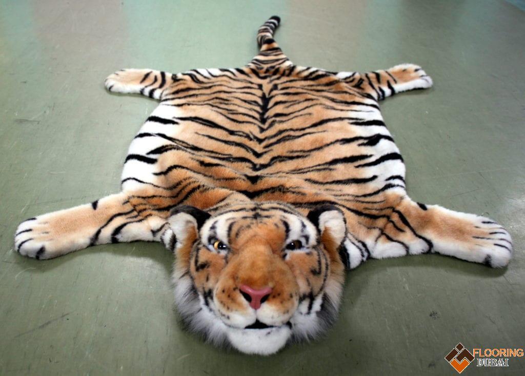 Tiger hide rugs in Dubai