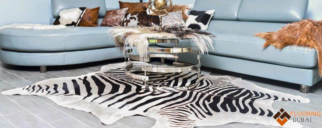 Zebra Hide Rugs Dubai, Abu Dhabi & UAE - Buy Zebra Hide Rugs